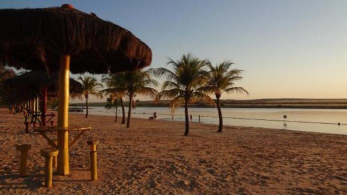 Foto da praia artificial em Sertãozinho, representando abrir empresa em Sertãozinho - Abertura Simples