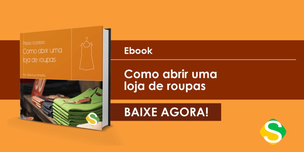 Imagem de um e-book guia para abrir uma loja de roupas de sucesso!