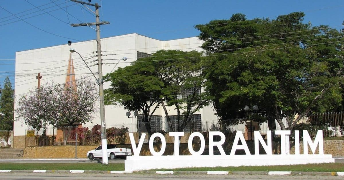 Foto do nome da cidade, representando como abrir empresa em Votorantim