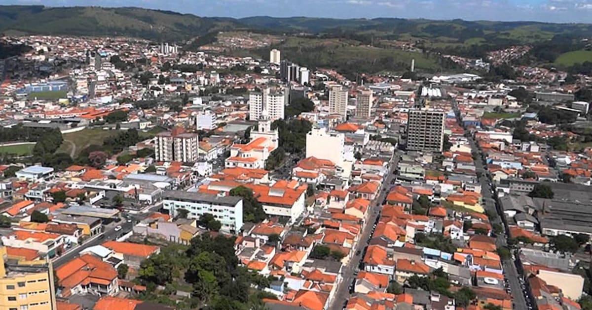 Foto aérea da cidade, representando a contabilidade em itatiba