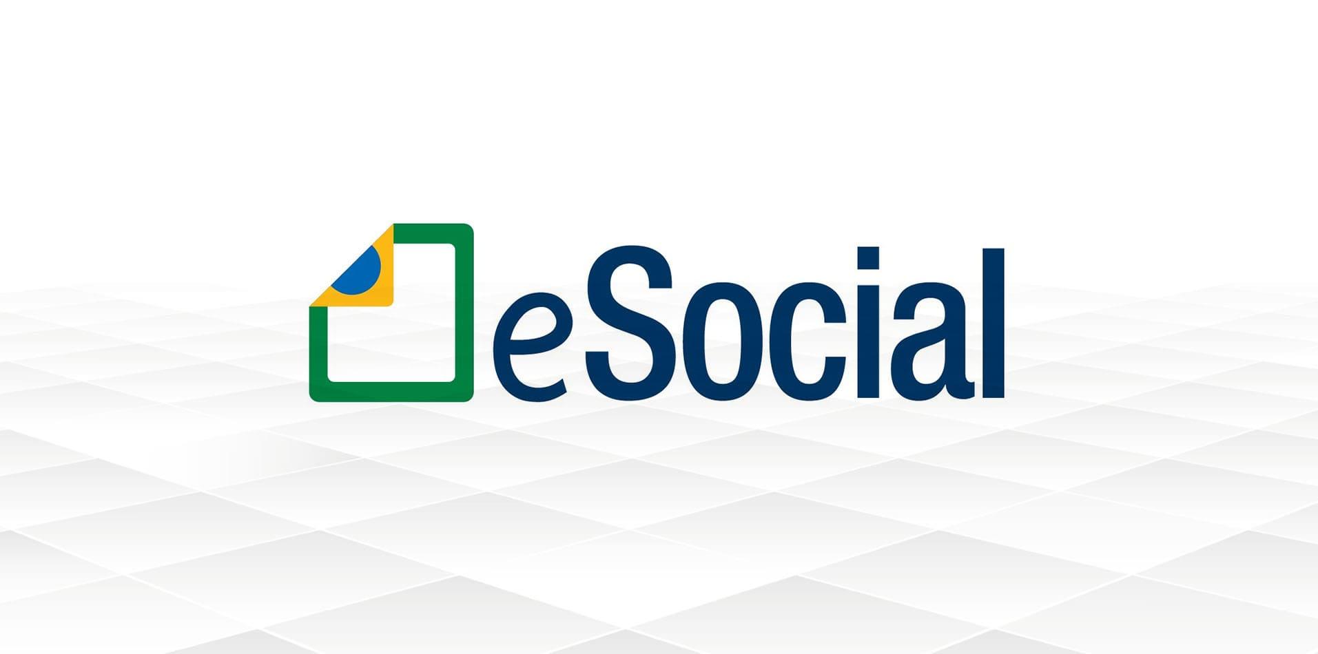 Foto do logo do sistema eSocial, que obteve algumas mudanças importantes para os empreendedores, colaboradores e contadores