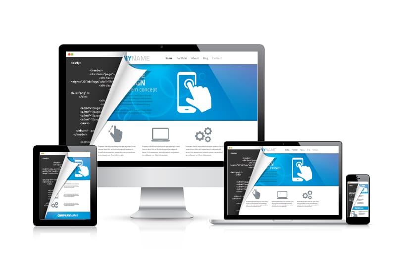 Imagem de alguns exemplos de plataformas de lojas virtuais para inspirar o empreendedor que deseja montar um serviço de software para e-commerce