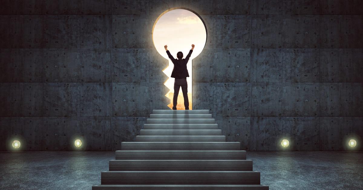 Imagem de uma empreendedor iniciando uma trajetória de sucesso para remeter ao Índice de Inovação do Brasil