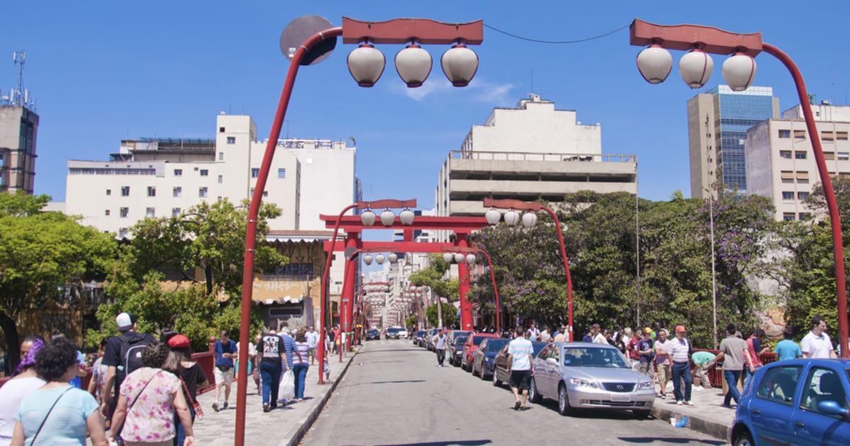 foto de rua principal da cidade, representando como abrir empresa na liberdade