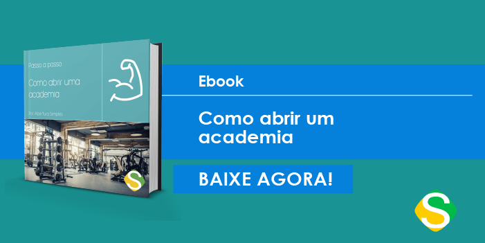 banner do ebook de como abrir uma academia