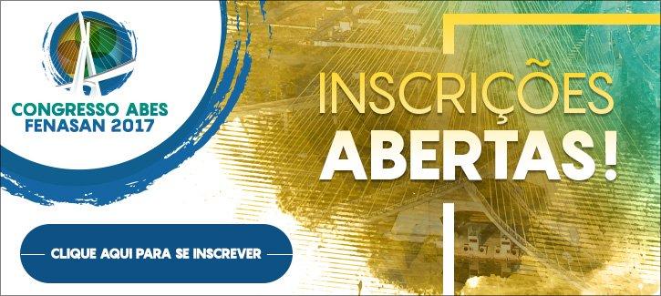 ... ABES Fenasan 2017 – o maior encontro de Saneamento Ambiental das  Américas. Os interessados poderão se inscrever no site  www.abesfenasan2017.com.br. f4da6d7bc501b