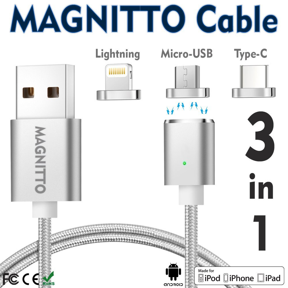 Top 10 Best Magnetic Cable Chargers For Table Iphone Android 2018 Micro Usb 3 Pin Wiring Diagram Review A Pro