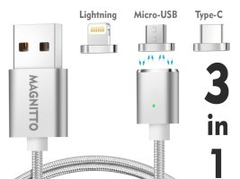 Top 10 Best Magnetic Cable Chargers For Table, iPhone & Android 2018 Review