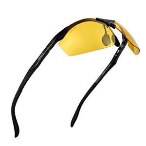 f610510b43 SOXICK HD Anti-Glare Polarized Sunglasses for Night Vision Safety