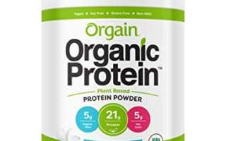 Top 10 Best Organic Protein Powder 2019 Review