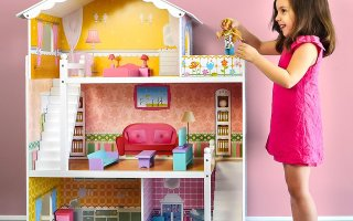 Top 10 Best Wooden Doll House in 2020 Review