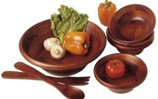 Top 10 Best Wooden Bowl Set in 2018 Review