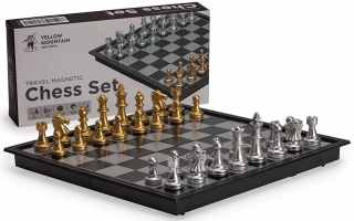 Top 10 Best wooden magnetic chess set 2019 Review
