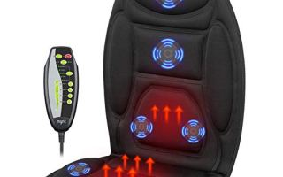 Top 10 Best Car Seat Massagers in 2019 Review