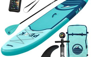Top 10 Best Blow up Paddle Board in 2018 Review