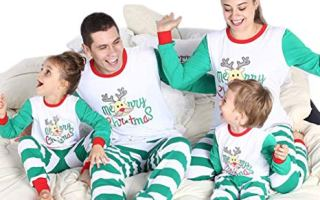 Top 5 Best Christmas pajamas for a family in 2019 Review.