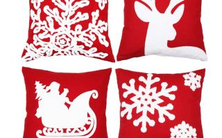 Top 5 Best Christmas pillow covers in 2018 Review.