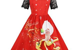 Top 5 best women's ugly Christmas sweater dress for the party in 2019 review