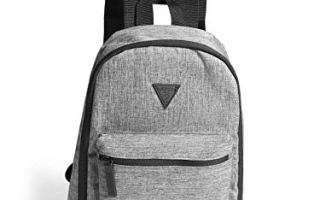 Top 5 best black mini backpack guess in 2019 review