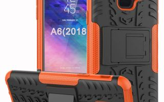 Top 5 best Samsung Galaxy A6 case in 2019 review