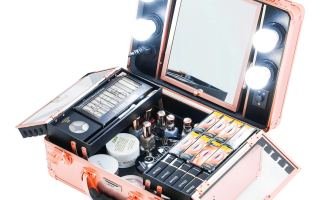 Top 5 Best Makeup Cases With Mirror In 2019 Reviews