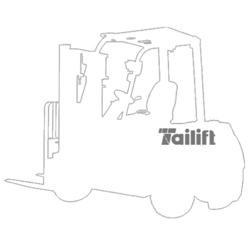 Tailift 3,600 lbs LP Pneumatic
