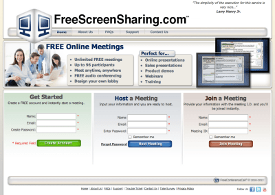 Free Screen Sharing