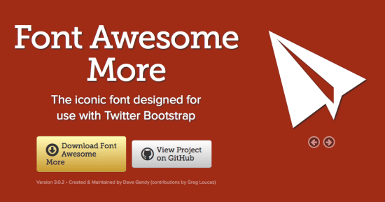 Font Awesome More