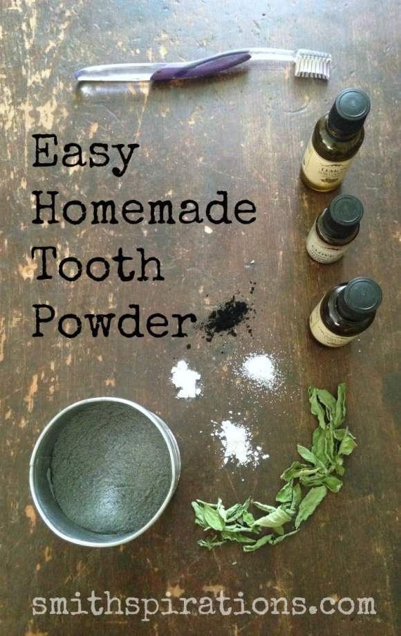 Easy Homemade Tooth Powder