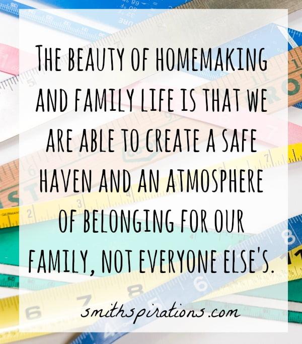 Homemaking & Family life