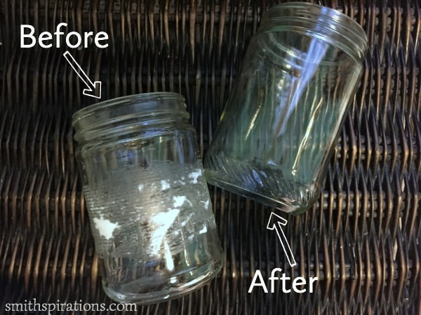 before after jars