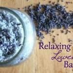 Relaxing Lavender Bath Salts