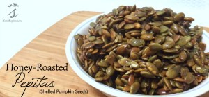 Honey-Roasted Pepitas (Shelled Pumpkin Seeds)