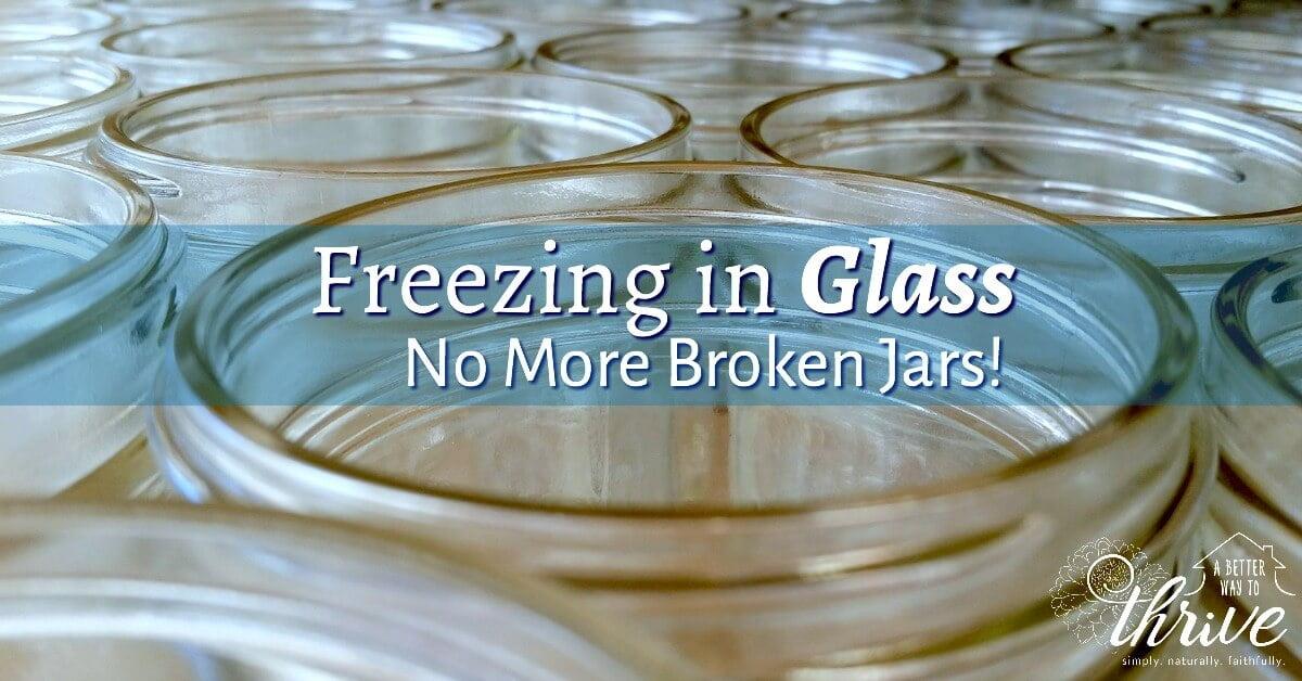 Freezing in Glass No More Broken