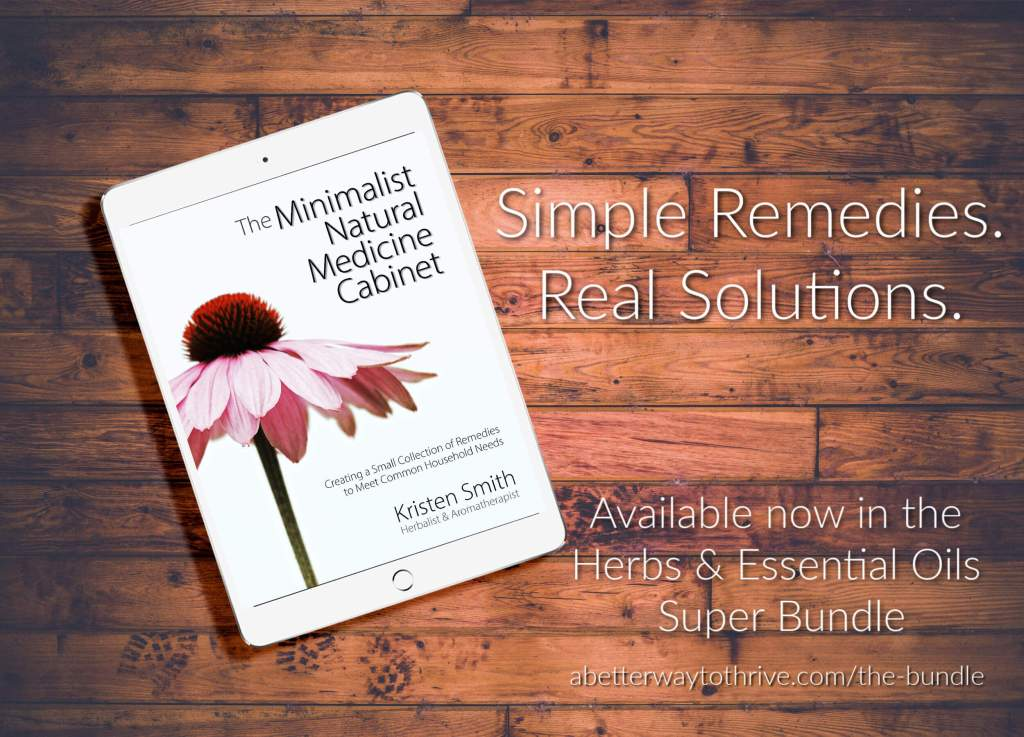 The Minimalist Natural Medicine Cabinet EBook