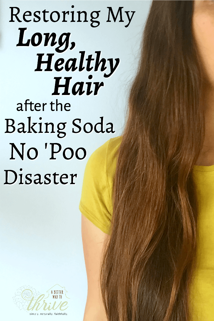 Baking soda no 'poo destroyed my hair, but with time and some TLC it's healthy once again!