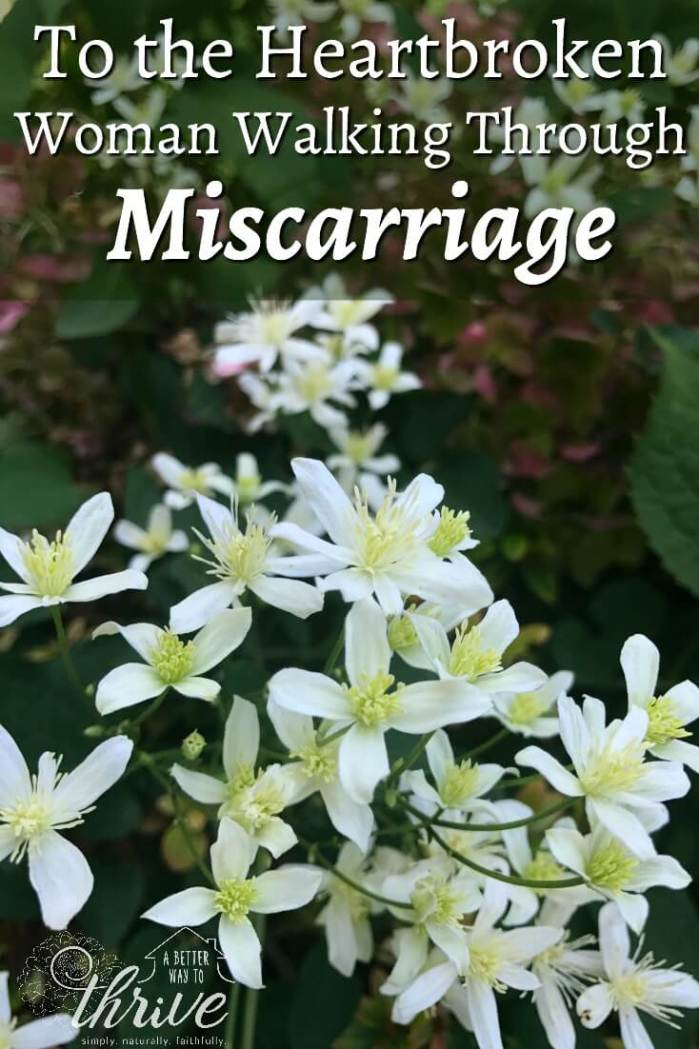 Miscarriage hurts. The grief and pain are raw and sometimes you need to talk to someone who's been there. I understand. These are my words for you.