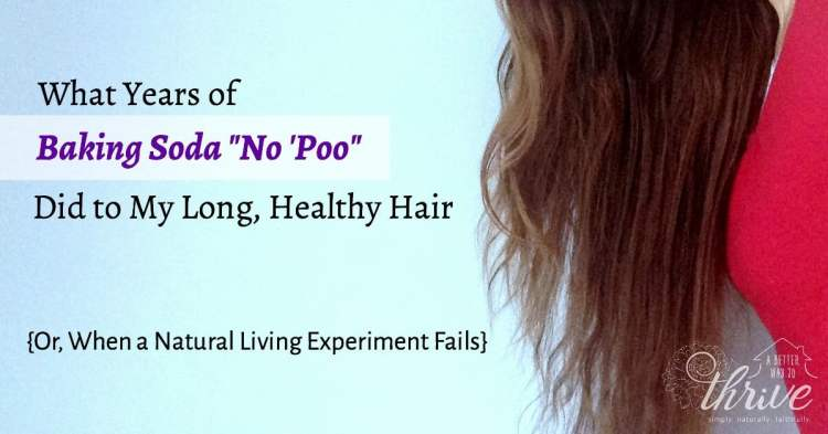 What Years Of Baking Soda No Poo Did To My Long Healthy Hair