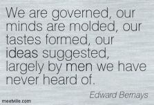mind control bernays quote