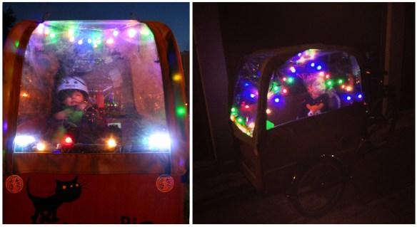 Cargo bike Christmas
