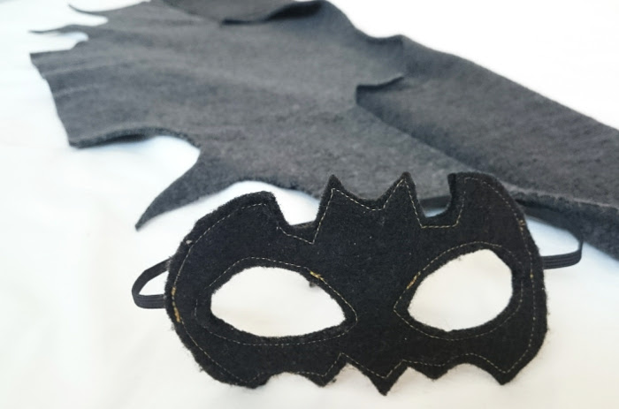 Halloween and sewing a bat costume in less than an hour