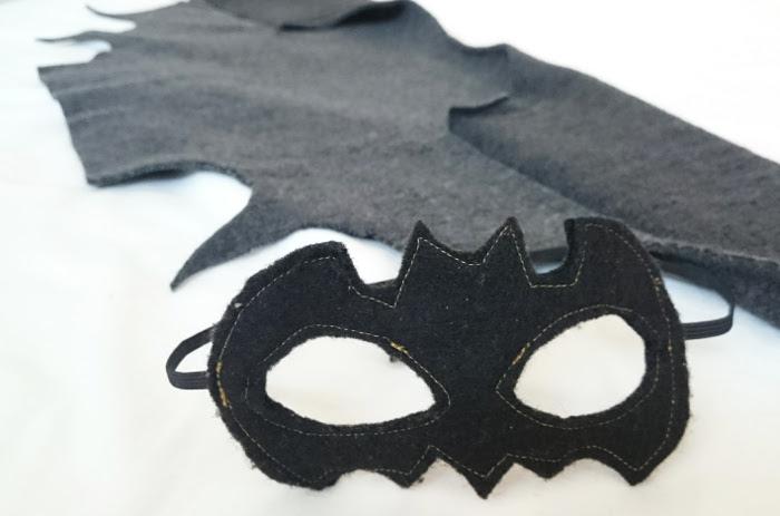Halloween en een vleermuiskostuum naaien in minder dan 1 uur