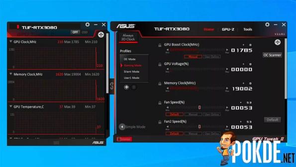 GPU Tweak II: Advanced Mode