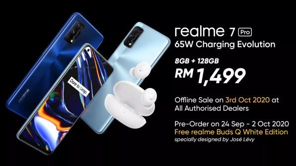 realme 7 Pro pre-order deal