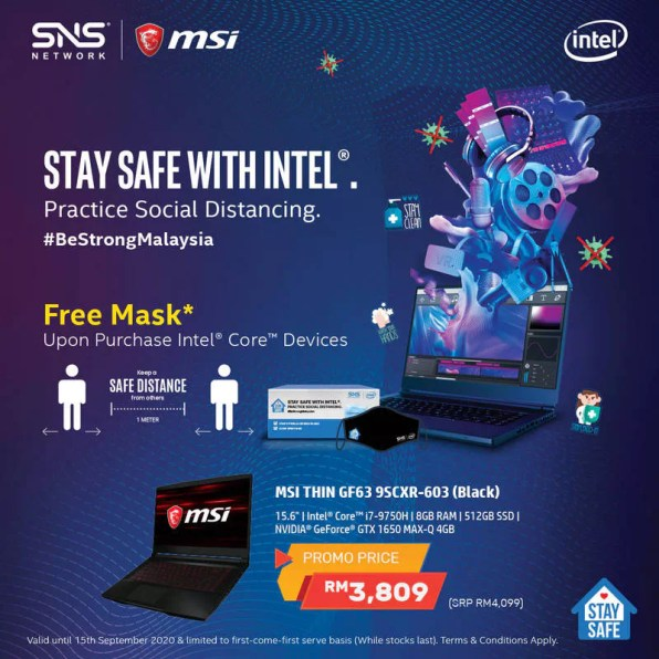MSI Thin GF63