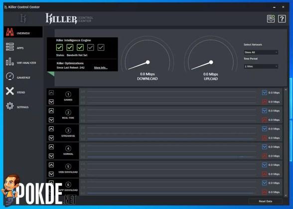 GIGABYTE AORUS 15G Review Killer Control Center