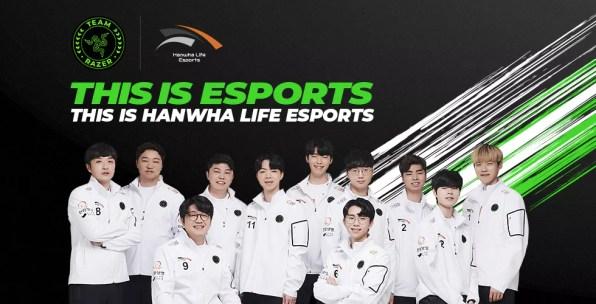 Razer Asia Pacific League of Legends Hanwha Life Esports