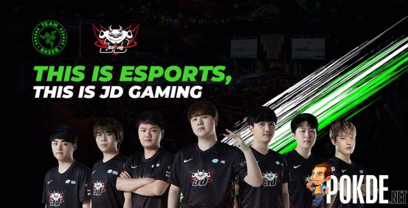 Razer Asia Pacific League of Legends JD Gaming