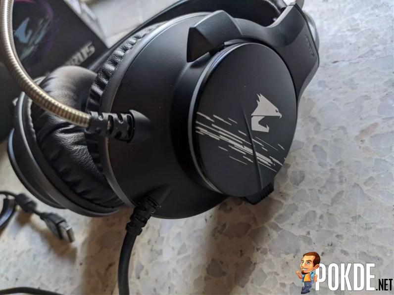 GIGABYTE AORUS H1 Gaming Headset Logo