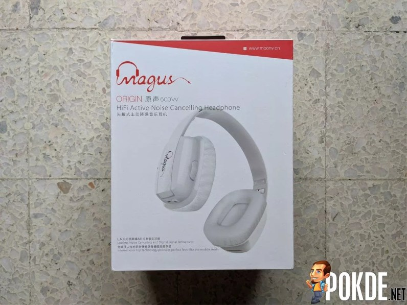 Magus 600B ANC Headphones Box Front
